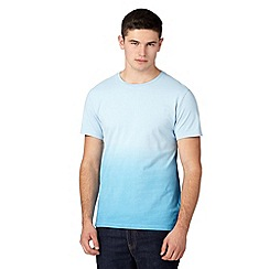 Red Herring - Light blue dip dye t-shirt