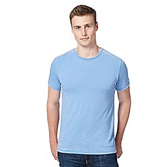 Red Herring - Light blue jersey burnout t-shirt