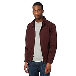 Red Herring - Wine harrington jacket
