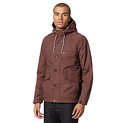 Red Herring - Dark red five pocket jacket