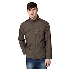 Red Herring - Khaki four pocket jacket