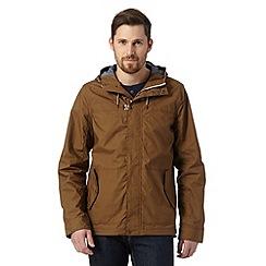 Red Herring - Tan clasp fastening jacket