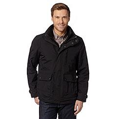 FFP - Black zipped funnel neck jacket