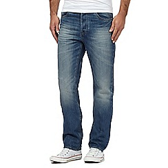 Red Herring - Light blue mid wash straight leg jeans