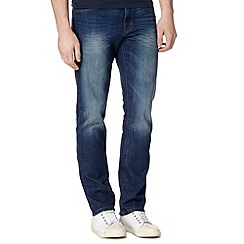 Red Herring - Blue mid wash slim leg jeans