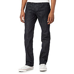 Red Herring - Big and tall dark blue slim leg jeans