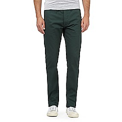 Red Herring - Dark green slim fit chinos