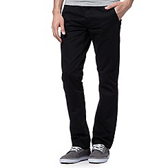Red Herring - Black slim leg chinos