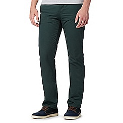 Red Herring - Dark green straight leg chinos
