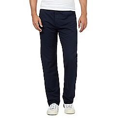 Red Herring - Navy straight leg chinos