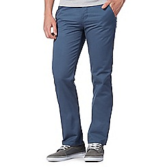 Red Herring - Mid blue straight leg chinos
