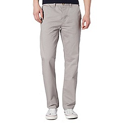 Red Herring - Light grey straight fit chinos