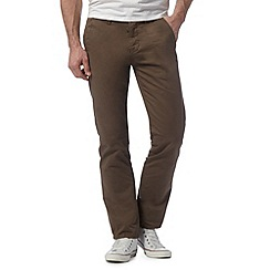 Red Herring - Light brown straight leg chinos