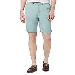 Red Herring - Pale green chino shorts