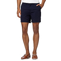 Red Herring - Navy plain shorts