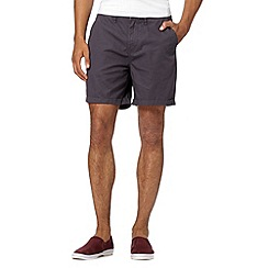 Red Herring - Dark grey plain shorts