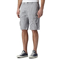 Red Herring - Light grey cargo short