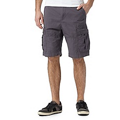 Red Herring - Dark grey cargo short