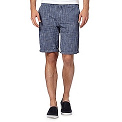 Red Herring - Dark blue chino shorts