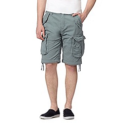 St George by Duffer - Turquoise cargo shorts