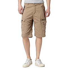 FFP - Big and tall natural pocket cargo shorts