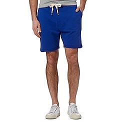 Red Herring - Blue fold cuff sweater shorts