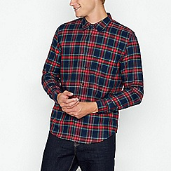 Red Herring - Red western checked shirt