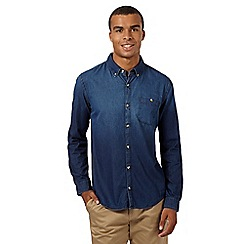 Red Herring - Dark blue denim shirt