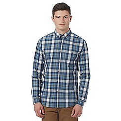 Red Herring - Blue large check shirt