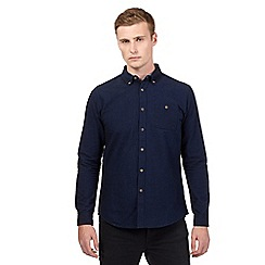 Red Herring - Navy brushed shirt