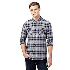 Red Herring - Blue check patch pocket shirt