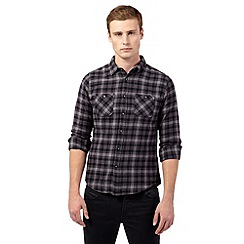 Red Herring - Grey check shirt