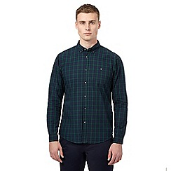Red Herring - Green tartan casual shirt