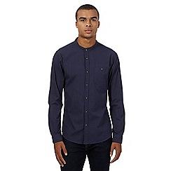 Red Herring - Blue grandad gingham shirt
