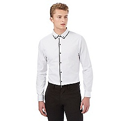 Red Herring - White contrast shirt