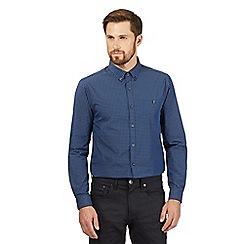 Red Herring - Blue gingham button down collar shirt