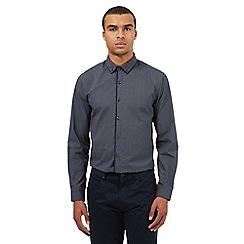 Red Herring - Navy print long sleeve shirt