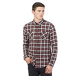 Red Herring - Red flannel check shirt