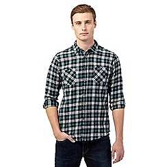 Red Herring - Green check flannel shirt