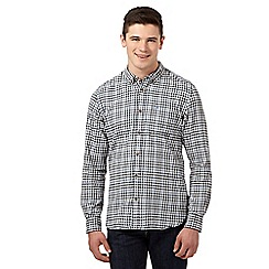 St George by Duffer - Blue tonal gingham shirt