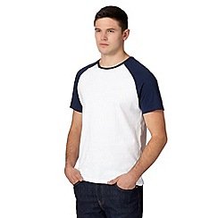 Red Herring - Dark blue raglan sleeve t-shirt