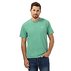 St George by Duffer - Big and tall green crew neck t-shirt