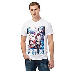 Red Herring - White Santa print t-shirt