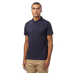 Red Herring - Navy jersey polo shirt