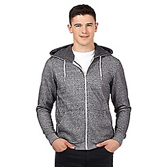 Red Herring - Light grey grindle hoodie