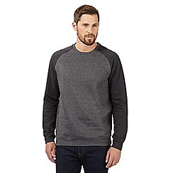 Red Herring - Dk Grey Grindle Raglan sweater
