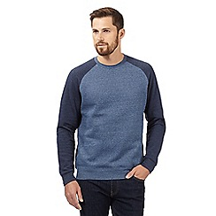 Red Herring - Navy Grindle Raglan sweater