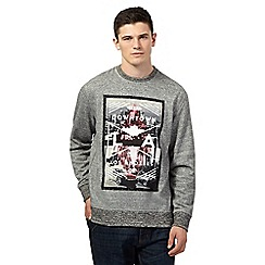 Red Herring - Grey photo print  jumper