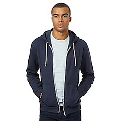 Red Herring - Blue zip through hoodie