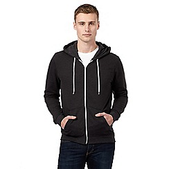 Red Herring - Dark grey zip up hoodie